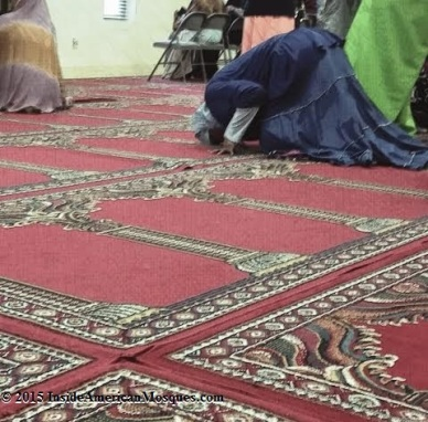 """This is my first time attending a mosque. I'm a Christian but I've always been curious about Islam. It's not as it's portrayed, so I came here with one of my friends who is Muslim. She was helping me put the scarf on in the car because I didn't want to offend anyone. I'm happy I came."" This visitor (not pictured) was kind enough to share her experience and thoughts about visiting the mosque and her general curiosity about Islam. If you also have questions or are curious about Islam, it is a sincere hope that you will visit your local mosque with a friend or even make a new Muslim friend. Just like our bodies, our minds and hearts need exercise too - in learning new experiences and trying new activities. (GCLEA)"